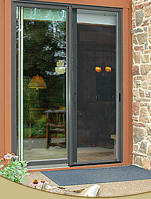 Retractable patio screen door gallery patio screen doors for Retractable patio doors