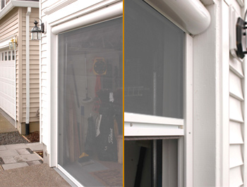 garage door screen systemShy Zip screen system by Glide Screen